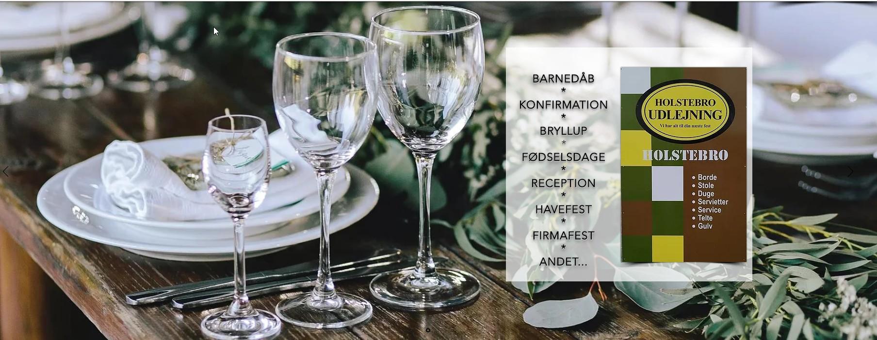 Holstebro Udlejning - Fest udlejning